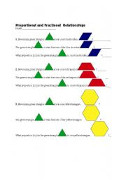 Cuisenaire Rod and Pattern Block Activities
