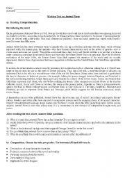 English Worksheet: Test on Animal Farm