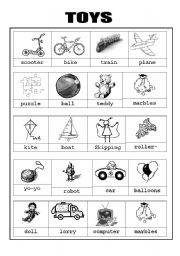 Toys:Picture dictionary