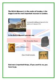 English Worksheet: Culture: The British  Museum