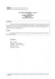 English Worksheets: reading comprehension