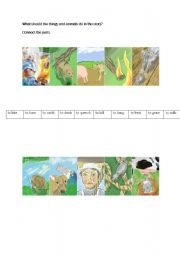 English Worksheets: The old woman and her pig