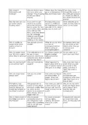 English Worksheets: stupid questions