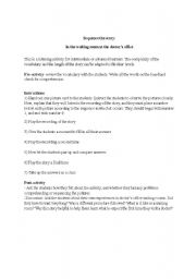 English Worksheet: Sequence the story (Health theme)