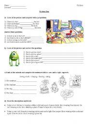 written test-elementary (children)