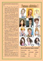 Famous celebrities part 1 (09.11.2010)