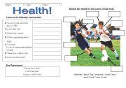 English Worksheets: Sickness