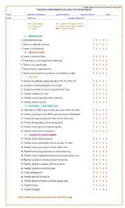 English Worksheet: TEACHING  EVALUATION