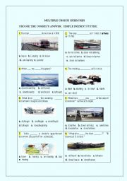 English worksheet: Simple present future