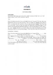 English Worksheets: Let�s lear how to switch words