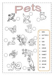 printable worksheets on pets Quotes