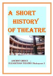 English Worksheet: Simplified history of theatre