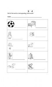 english worksheets visual discrimination. Black Bedroom Furniture Sets. Home Design Ideas