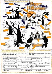 English Worksheets: Halloween Exercises