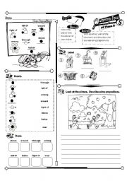 English Worksheets: Grammar Focus Series_05 More Prepostions (Fully Editable + Answer Key)