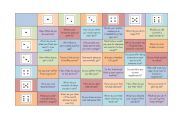 English Worksheet: Health Dice Game