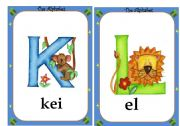 English Worksheet: Alphabet flashcards- 2 /4
