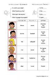 English Worksheets: using what? question