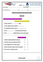 English Worksheets: The greatest treassure. By (AMIT GARG) worksheet 1