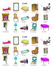 English Teaching Worksheets Furniture