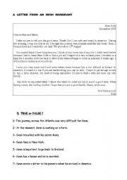 english worksheets immigration worksheets page 11. Black Bedroom Furniture Sets. Home Design Ideas