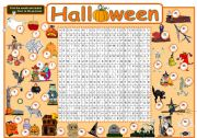 English Worksheets: Halloween - Part 3