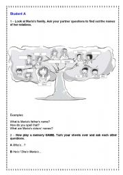 English Worksheets: Work in pairs + Play a memory GAME