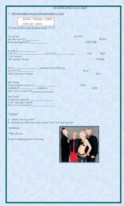 English Worksheets: Song: No Doubt Don`t Speak