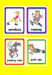 Fitness Flashcards