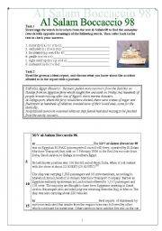 English Worksheets: Al Salam Boccassio