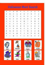 HALLOWEEN VOCABULARY WORKSHEETS IN FRENCH | halloween worksheet
