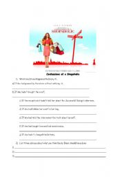 English Worksheet: Confessions of a Shopaholic - Third Conditional and Advice