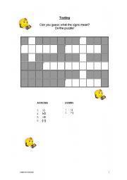 English worksheet: Texting