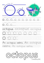 English Worksheets: Worksheets and reuploaded Learning Letters Oo and Pp: 8 worksheets