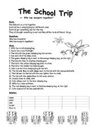 field trip worksheet the large and most comprehensive worksheets. Black Bedroom Furniture Sets. Home Design Ideas