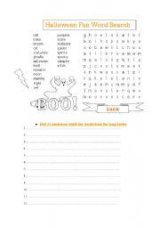 English Worksheets: Soup Letter