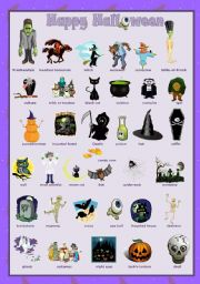 Halloween set  2 - Pictionary