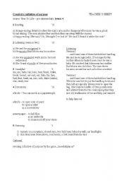 English Worksheet: Creativity, infinitive of purpose 2