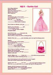 Barbie Girl Song by Aqua