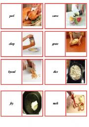 domino cooking verbs part 1