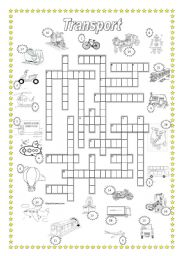 Transport Crossword