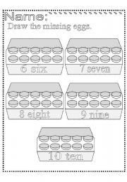 practice counting 1-10