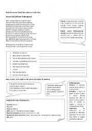 english teaching worksheets william shakespeare. Black Bedroom Furniture Sets. Home Design Ideas