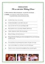 English Worksheet: Friends - The one with all the wedding dresses