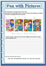 English Worksheets: fun with pictures 6