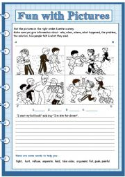 English Worksheets: fun with pictures 7