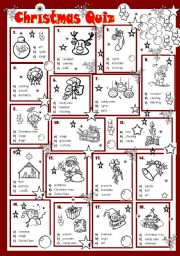 graphic about Christmas Trivia Printable identify Xmas quiz worksheets