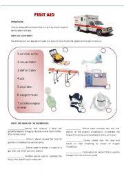 Hostpital: first aid