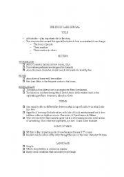 English Worksheets: FRUITCAKE SPECIAL