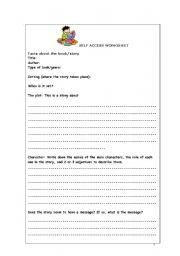 English Worksheets: Extensive weekly Activity Wirksheet